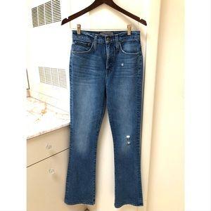 J Crew Point Sur Boot Cut Jeans
